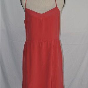 Madewell Sunlight Cami Dress 12 100% Silk